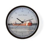 John G. Munson Wall Clock