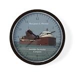 Hon James L. Oberstar Wall Clock