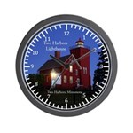 Two Harbors Lighthouse Wall Clock