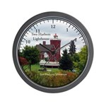 Two Harbors Lighthouse & Boat Wall Clock