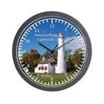 Sturgeon Point Lighthouse Wall Clock