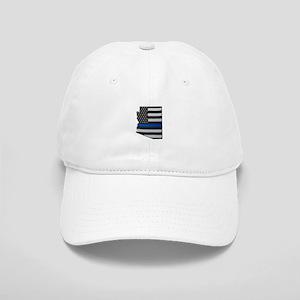 Arizona Thin Blue Line Map Baseball Cap
