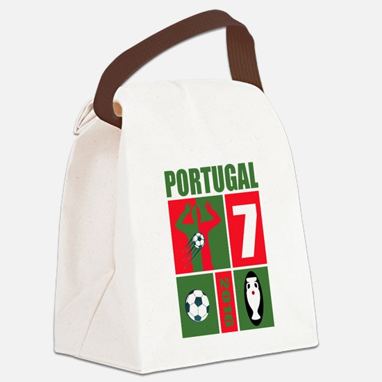 Cute Sports soccer Canvas Lunch Bag