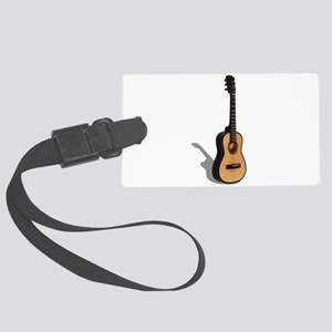Guitar081210 Large Luggage Tag