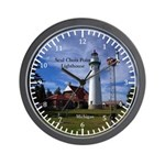 Seul Choix Point Lighthouse Wall Clock
