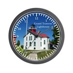 Grand Travers Lighthouse Wall Clock