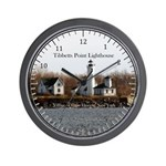 Tibbett's Point Lighthouse Wall Clock