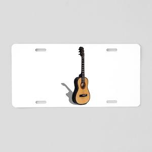 Guitar081210 Aluminum License Plate