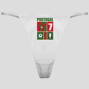 PORTUGAL SOCCER Classic Thong