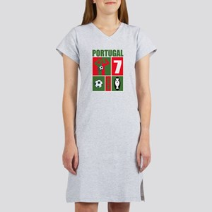 PORTUGAL SOCCER Women's Nightshirt