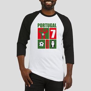 PORTUGAL SOCCER Baseball Jersey