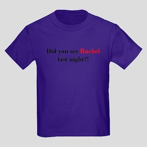 Rachel Fan Kids Dark T-Shirt