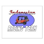 Indonesian Racing Team Small Poster