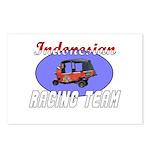 Indonesian Racing Team Postcards (Package of 8)