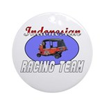 Indonesian Racing Team Ornament (Round)