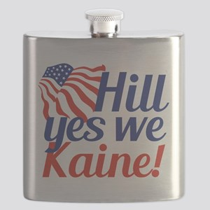 Hill Yes We Kaine Flask