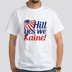 Hill Yes We Kaine White T-Shirt