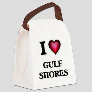 I love Gulf Shores Texas Canvas Lunch Bag