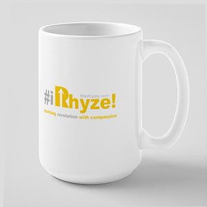 #iRhyze! - with Compassio 15 oz Ceramic Large Mug