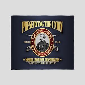 Chamberlain (PTU) Throw Blanket
