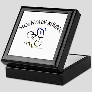 MOUNTAIN BIKING Keepsake Box