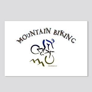 MOUNTAIN BIKING Postcards (Package of 8)