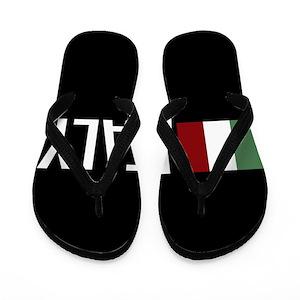 8bdf2d7c25307 Proud To Be Italian Flip Flops - CafePress