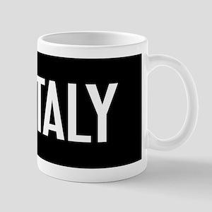 Italy: Italian Flag & Italy Mug