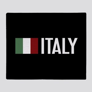 Italy: Italian Flag & Italy Throw Blanket