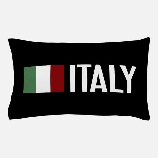 Italy: Italian Flag & Italy Pillow Case