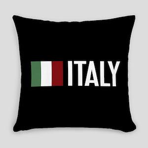 Italy: Italian Flag & Italy Everyday Pillow