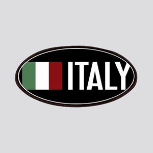 Italy: Italian Flag & Italy Patch