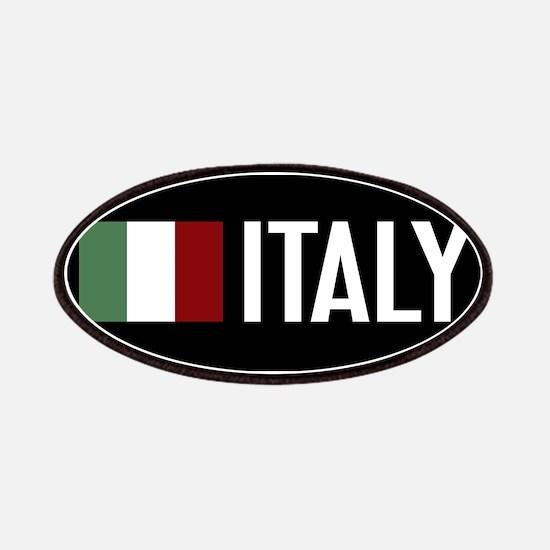 Italy: Italian Flag & Italy Patch