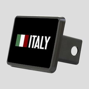 Italy: Italian Flag & Ital Rectangular Hitch Cover