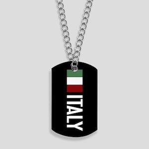 Italy: Italian Flag & Italy Dog Tags