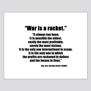 War is a Racket Small Poster
