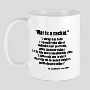 War is a Racket Mug