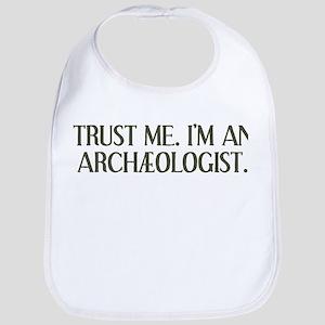 I'm An Archæologist Bib