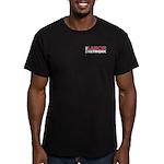 Tln Words Logo Men's Dark T-Shirt