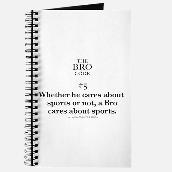 Bro Code #5 Journal