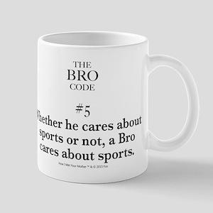 Bro Code #5 Mugs