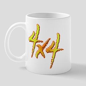 4x4 Fire Mug