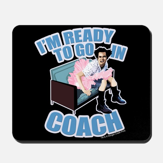 Ready To Go In Coach Mousepad
