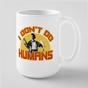Ace Ventura Don't Do Humans Large Mug