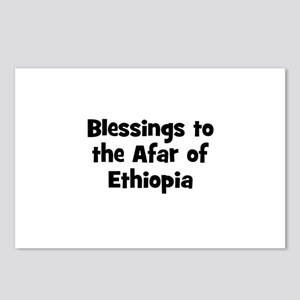 Blessings to the Afar of Ethi Postcards (Package o