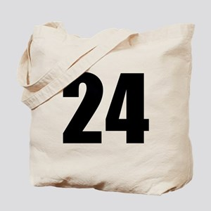 Number 24 Tote Bag