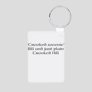 Crooked weenie Keychains