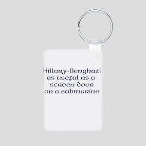 Hillary Benghazi Keychains