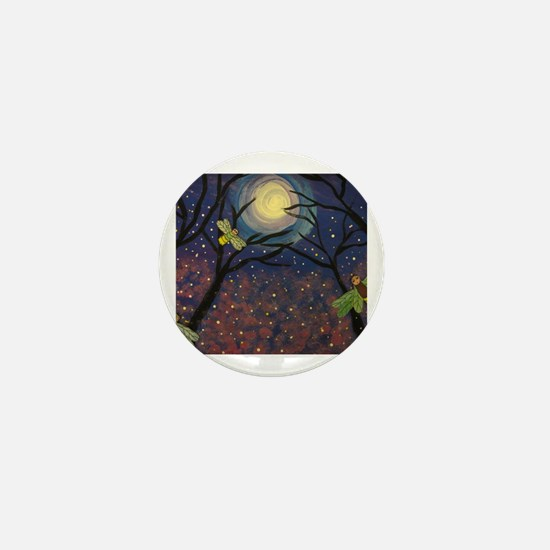 Cute Moonlight Mini Button