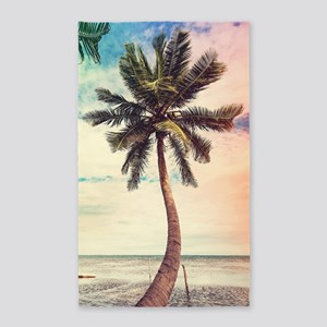 Palm Tree Area Rug
